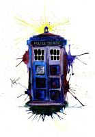 Tardis by AwyrGreen