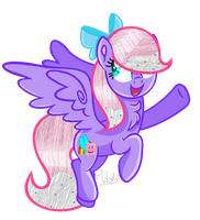 .:Art Trade:. Rainbow Biscuit by Mlp-Magical-Melody