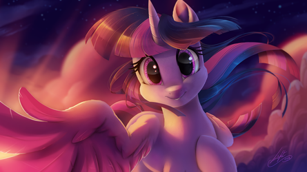 Twilight Sparkle tenderness by Light by Light262