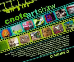 C-Note Art Show by peggymintun