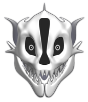 MMD Gaster Blaster model preview by 495557939