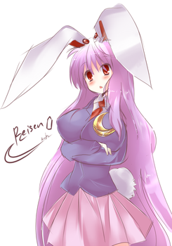 Touhou : Reisen colored by Kiotii