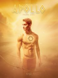 Apollo _ Young Gods _ Greek by MartyRossArts