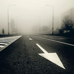 CCXLIV. ..in the fog IX. by behherit