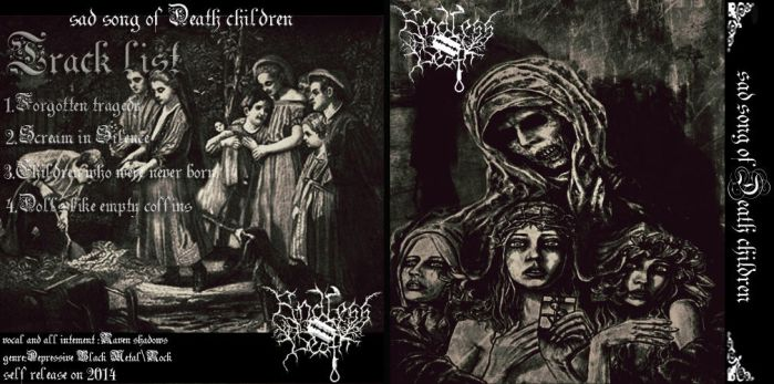 Endless Death sad song of Death children by lastRevan