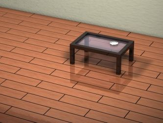 lonely table by iadesigns