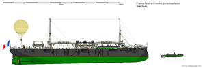 Foudre Torpedo boat Cruiser by darthpandanl