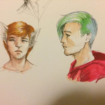 Marker doodles 1-22-17 by KytCordell