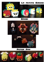 Creations Perles Hama 3d (partie 2) by Sedji