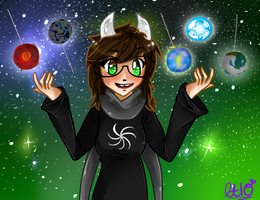 witch of space by littletea10