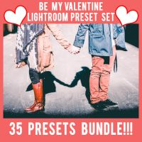 Be My Valentine Lightroom Preset Bundle!!!! by RetouchingBlog