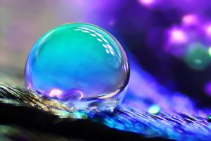 Drops Little World by SheilaMBrinson