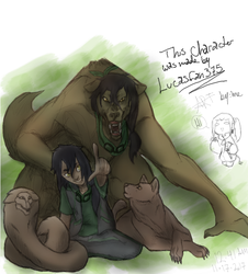 The forms of Kota and Lupus by Lucasfan375