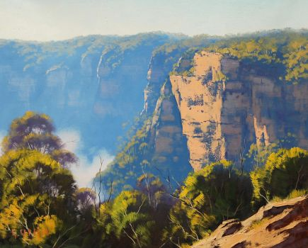 Cliff Top Katoomba, Australia by artsaus