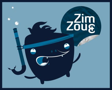 Zim and Zou by Zim-dez