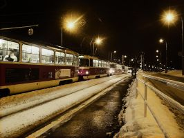Other side of trams by emu2