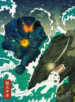 Pacific Rim by cheshirecatart