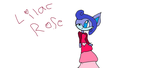 Lilac Rose by IloveFNAFandsonic