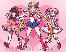Magical Girls by SonicRocksMySocks
