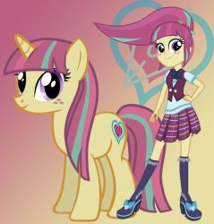 MLP Equestria Girls: Friendship Games- Sour Sweet by sunset-sunrize