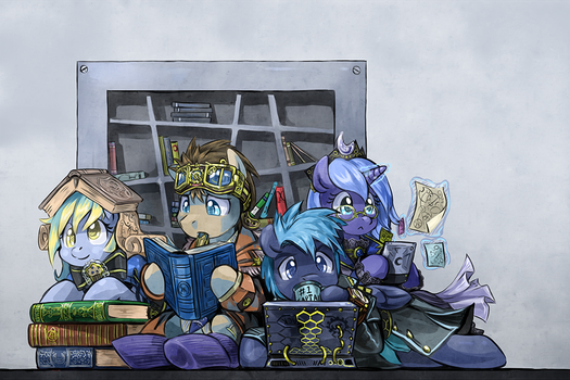 Weaponry by saturnspace