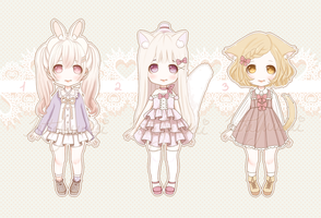 [CLOSED] Little Auction for Little Adoptables!#9 by intheyuukei