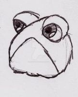 Sad Frog by UnicronHound