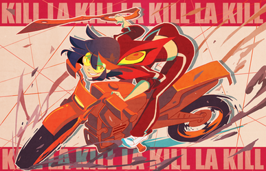 KILL LA KILL by nargyle