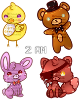 Five Nights At Freddys by Ambercatlucky2