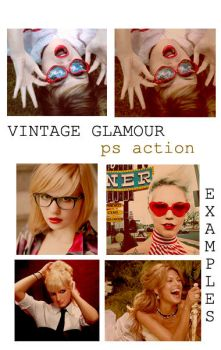 Vintage Glamour Action by bettdesigns