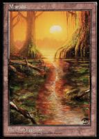 Mirage Swamp - I by MD-Arts