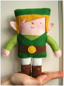 Link Plushie by elbooga