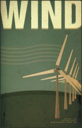 Alternative Energy Poster: Wind Energy by RyanJGill