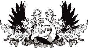 Skull Art 2 by trjones