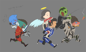 Mass Effect: Double Time People!!! (WIP) by StellarStateLogic