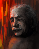 albert einstein by Tillos