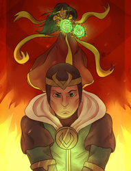 Everything is on Fire by Ikolit