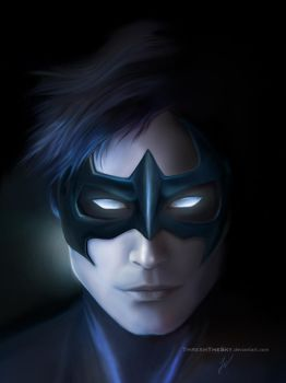 Nightwing by ThreshTheSky