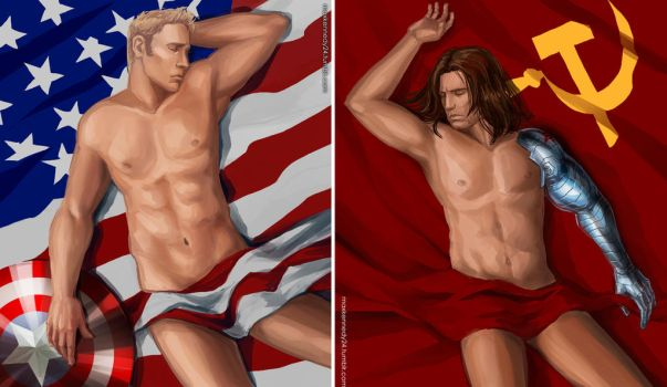 Captain America: The Winter Soldier - Other side by maXKennedy