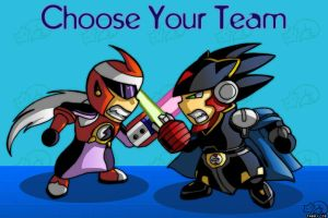 Choose Your Team by digitallyfanged