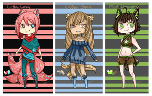 [SOLD OUT] Stardust Chibidoptables - $5 adopts by Curryki