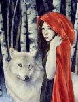 Little Red Riding Hood by KatrinaWinter