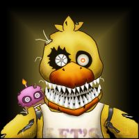 Nightmare Chica by menta-RR-66