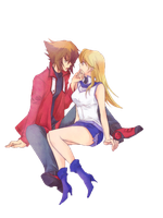 Judai X Asuka Render by xXJudaiSamaXx