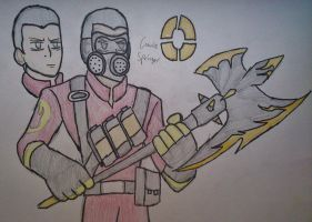 Titan Fortress 2 - Connie Springer the Pyro by Fil101