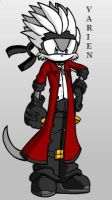 Varien the Weasel--NEW VERSION by ParkesietheHedgehog