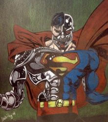 Cyborg Superman by dalescott78