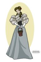 Victorian Briar Rose by LaTaupinette