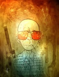 Hunter by Templesmith