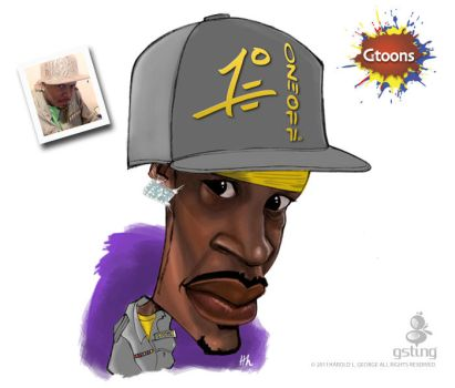 Shamell Caricature by haroldgeorge-gsting